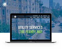 Feeney Brothers Utility Services - Web Design