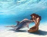 Little mermaid by Aiden Lee