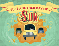 Another Day of Sun Illustration