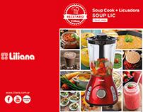 Catálogo de recetas para Soup Lic + Licuadora - Liliana
