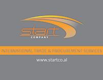 Business card START Company