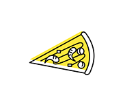 Food Icon Illustration | 食物图标