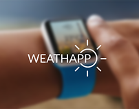 WEATHAPP - Apple watch