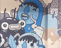 Mural for Bell Media