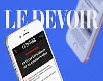 Le Devoir Mobile