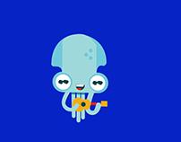 Octo guitar Animation