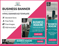 Business Banner- HTML5 Ad Templates