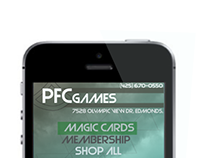 PFC Games Mobile Design