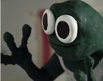 Sad Day Frog