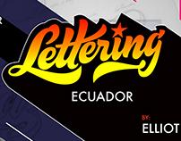 Taller de LETTERING en Ecuador.