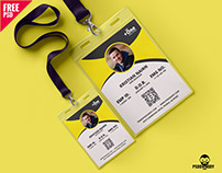 Identity Card Free PSD