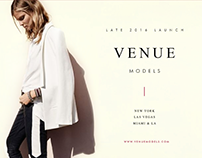 Venue Models | Visual Identity (2014)