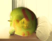 Apple kiss