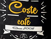 Menu Café Coste