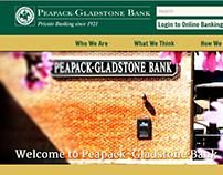 PGBank Website Redesign & Development