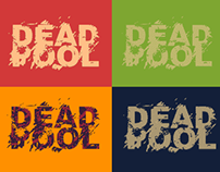 Dead Pool Typography T-Shirt