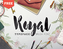 Royal - FREE BRUSH FONT