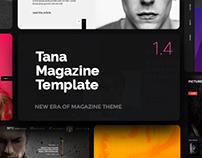 TANA - News, Entertainment, Blog Template