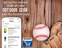 Amazon Shopping App Spring Campaign