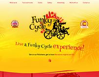 Identyfikacja i www dla Funky Cycle Barcelona