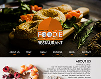 WEB TEMPLATE - FOODIE RESTAURANT