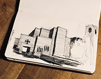 Scketchbook Church S.Giovanni e Paolo - Milan