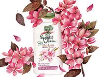 Le Petit Olivier floral campaign