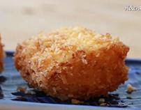 cách làm Bánh Sữa tươi chiên– Deep-fried custard