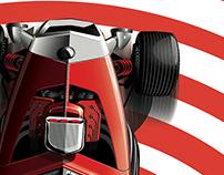 """""""Reverberator"""" a car concept to freshen up @Autorama"""