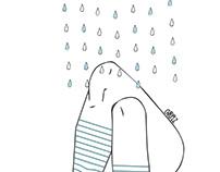 .Rainy mood.
