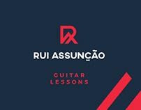 Rui Assunção Guitar Lessons // Branding