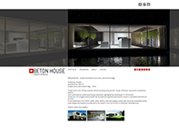 betonhouse.com website & logo