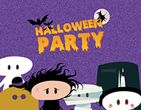 Halloween Party Characters