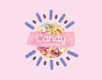 Candy Universe Rebranding