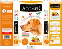 Propuestas de packaging de marca ACOMER