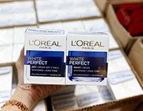 Thương hiệu Loreal nổi tiếng với những sản phẩm chăm só
