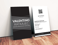 Business card - Valentino Ratkajec
