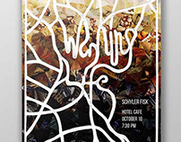 Waking Life Concert Poster