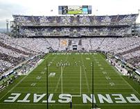 History of Beaver Stadium at Penn State