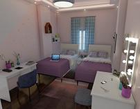 Girls's Room | Interior Design