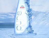 Evian Pure - Print Ad