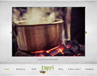 Tapri - the tea house, Website