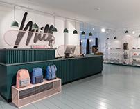 Milk shop – Retail design