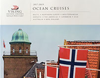 Corporate collateral for Viking Cruises Berman DG