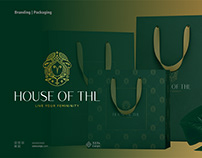 House of THL branding packing for luxury modest fashion