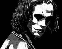 The Crow ScratchBoard