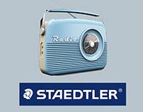 Radio / Gomma Staedtler