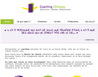 """Coaching 2BHappy"" website"