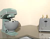 Kitchen Animation