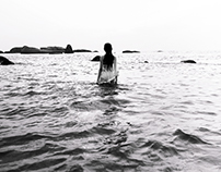 - THE GIRL WHO IS THE OCEAN -